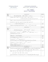 Đề thi chọn học sinh giỏi môn toán tỉnh Thừa THiên Huế năm 2007 - 2008 ppsx
