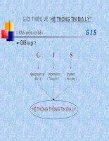 Khai niem GIS potx