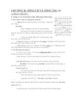 Công thức và bài tập luyện thi đại học môn Vật lý 12 - Chương 2 docx