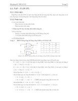 Giáo trình -Kỹ thuật số và mạch logic-chương 3b doc