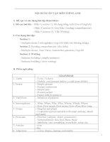 Đề thi công chức 2012 môn Anh văn