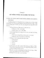 Giáo trình - Thông tin di động - Chương 9 pps