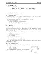 Giáo trình -Kỹ thuật số và mạch logic-chương 3a pps