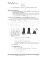 BÁO CÁO THÍ NGHIỆM VẬT LIỆU XÂY DỰNG - Bài 4-5 ppt