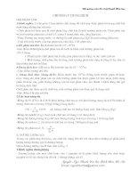 Bài giảng môn cơ sở lý thuyết hoá học - Chương V - Dung dịch ppt