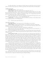 Bài giảng : Các chất phụ gia dùng trong sản xuất thực phẩm part 2 pdf