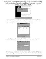 Giáo trình hướng dẫn phương pháp cấu hình cho hệ thống dùng modem trong cấu hình server cho hệ thống chức năng RAS p1 pot