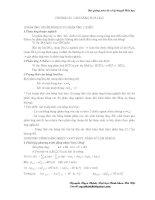 Bài giảng môn cơ sở lý thuyết hoá học - Chương III - Cân bằng hoá học pps