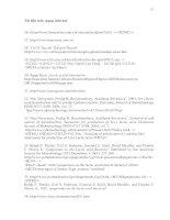 Luận văn : Nghiên cứu quá trình lên men lactic từ mật rỉ đường part 6 doc