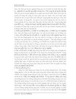 Luận văn tốt nghiệp : Thực trạng tiến trình cổ phần hóa và chủ trương cùa nền kinh tế thị trường hiện nay phần 5 pdf