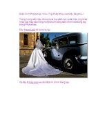 Giáo trình Photoshop: Hiệu Ứng Khác Nhau của Màu Sắc phần 1 doc