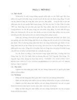 Luận văn : NGHIÊN CỨU KHẢ NĂNG GÂY BỆNH CHO CHUỘT Ở CÁC CHỦNG SALMONELLA CÓ NGUỒN GỐC TỪ BỆNH PHẨM, THỰC PHẨM part 1 pdf