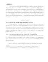 Luận văn : ĐIỀU TRA HIỆN TRẠNG SẢN XUẤT RAU AN TOÀN NĂM 2004 TẠI THÀNH PHỐ LONG XUYÊN TỈNH AN GIANG part 6 pptx