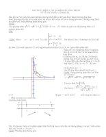 Bài toán biện luận nghiệm phương trình vô tỉ với nhiều cách giải ppt