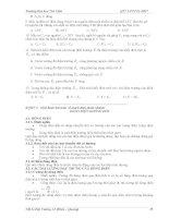 Bài giảng vật lý đại cương 2 : Điện - Quang part 4 pps