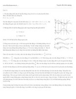 Đề thi thử vật lý : Bài giải-đề số 08 ppsx