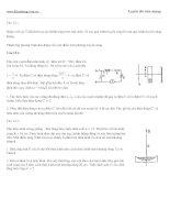 Đề thi thử vật lý : đề số 12 pot
