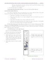 Quá trình hình thành tổng quan kiến thức về cách tạo chuyển động và hiệu ứng trong quy trình thiết kế p3 doc