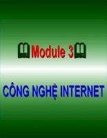 CÔNG NGHỆ INTERNET - 1 doc