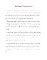 Làm thế nào để Tập trung tốt hơn pdf