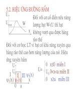 Vật lý đại cương - Động học lực chất điểm phần 2 doc