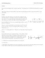 Đề thi thử vật lý : đề số 08 potx