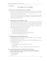 CÔNG NGHỆ CHẾ TẠO BÊ TÔNG - Chương 5 docx