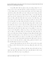 Chuyên đề tốt nghiệp: Khảo sát và tình hình chung của công ty điện thoại Hà Nội trong việc sử dụng nguồn lao động phần 1 ppsx