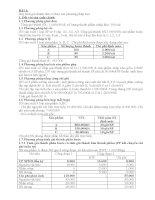 Bài tập phương pháp tính giá thành pps