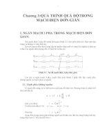 Giáo trình -Ngắt mạch trong hệ thống điện -chương 3-4 docx
