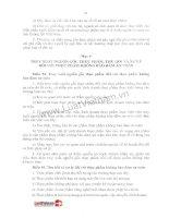 LUẬT AN TOÀN THỰC PHẨM 2010 phần 2 pdf