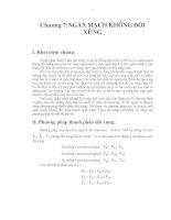 Giáo trình -Ngắt mạch trong hệ thống điện -chương 7 docx