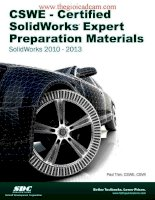 certified solidworks expert preparation materials 2012