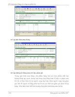 Quá trình hình thành giáo trình mô hình hóa hoạt động kinh doanh phân công công việc và quyền hạn trong phòng kế toán p8 ppsx