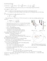 Hệ thống kiến thức vật lý 12 - Chương 1 pptx