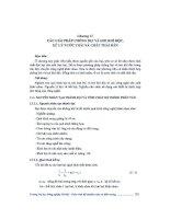 Giáo trình -Kỹ thuật an toàn và môi trường -chương 11 ppsx
