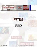 New Products Management - CHAPTER 16 PART FIVE LAUNCH pot