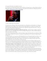Hai nguyên tắc đầu tư của Buffett và Soros pps