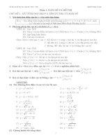 Tài liệu ôn thi đại học năm 2010 - 2011 môn toán pptx