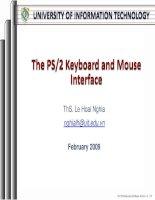 Các PS / 2 Bàn phím và chuột Giao diện pot