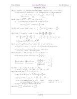 Hướng dẫn Đề toán số 10 ppsx