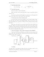 Quy trình thiết kế máy thu phát ký tự 32 bit bằng cách vận dụng ngõ ra của cổng logic AND p5 pptx