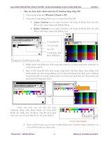 Tư liệu hình thành giáo trình hướng dẫn thao tác với các đối tượng trong chanel path p5 pps