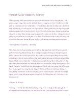 Nghệ thuật HIỂU THẤU TÂM LÝ NGƯỜI KHÁC - Phần 6 potx