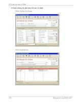 Quá trình hình thành giáo trình mô hình hóa hoạt động kinh doanh phân công công việc và quyền hạn trong phòng kế toán p2 ppsx