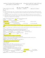 Trắc nghiệm Vi xử lý đề 1-10 docx