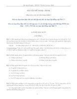 Bài tập đề nghị xác suất thống kê pot