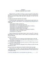 Giáo trình -Kỹ thuật an toàn và môi trường -chương 8&9 doc
