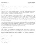 Đề thi thử vật lý : Bài giải-đề số 12 doc