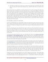 Hướng dẫn cách kiếm tiền trên Internet cùng John Chow phần 7 pdf
